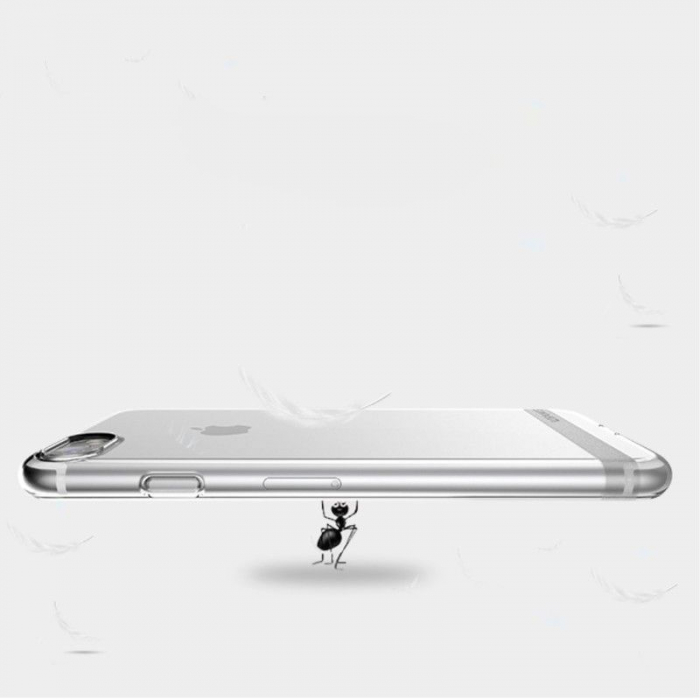 Husa  Iphone 7 - Usams Ultra Thin Soft TPU - transparent 6