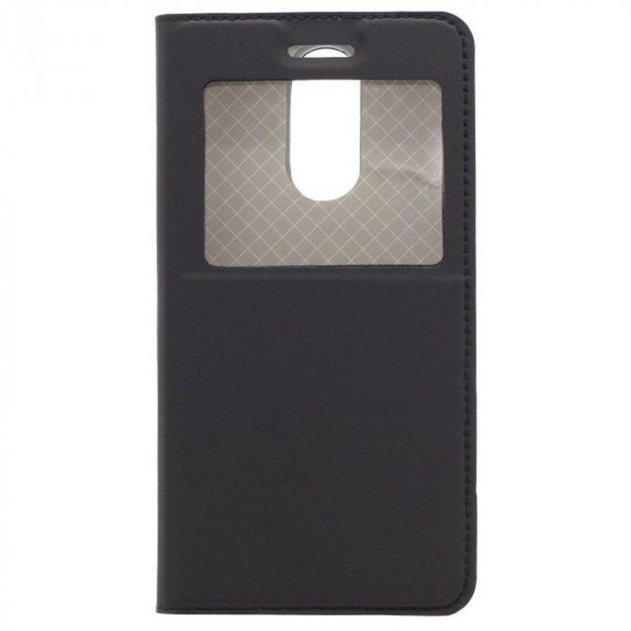 Husa  Vodafone N8 Flip Window - negru 0