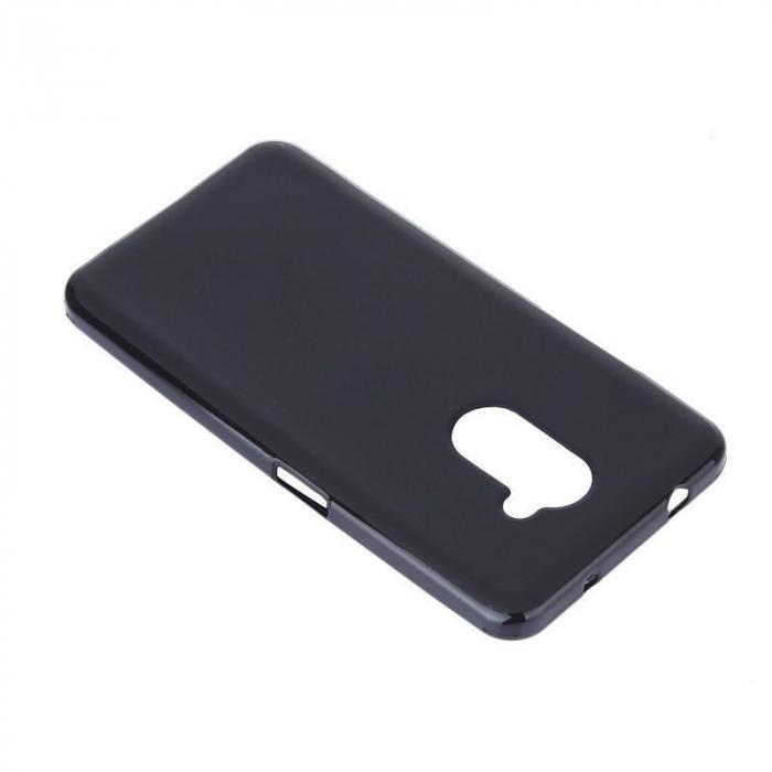 Husa Vodafone Smart V8 Silicon TPU - negru 2