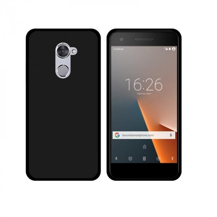 Husa Vodafone Smart V8 Silicon TPU - negru 0