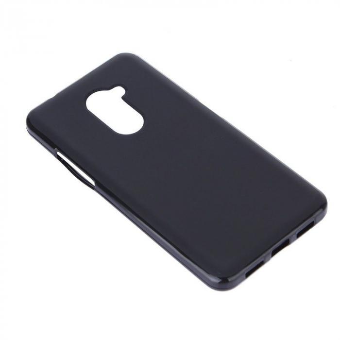 Husa Vodafone Smart V8 Silicon TPU - negru 1