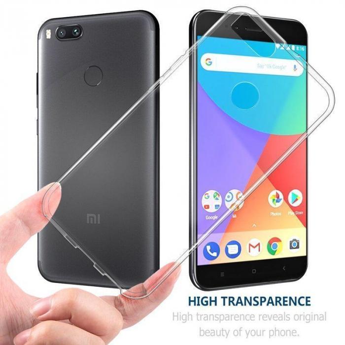 Husa Xiaomi Mi 5X Soft TPU 0.8 mm - transparent 1