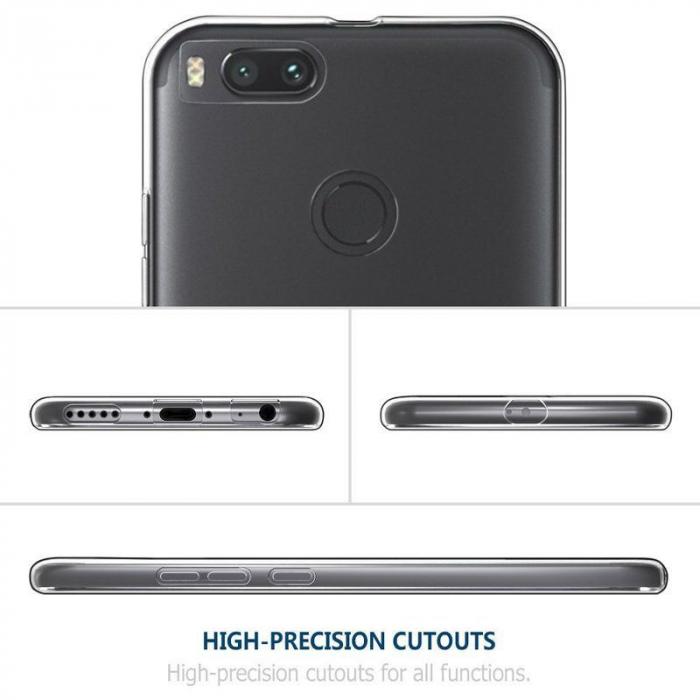 Husa Xiaomi Mi 5X Soft TPU 0.8 mm - transparent 2