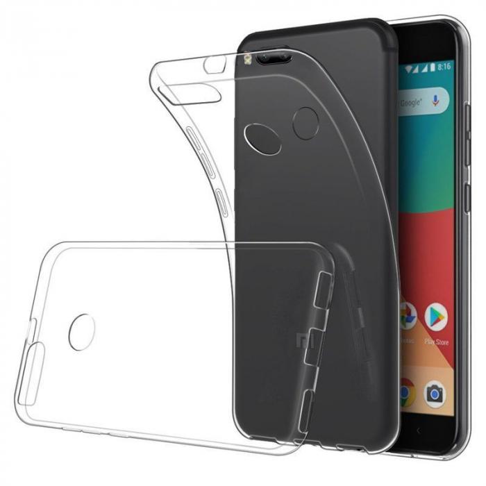 Husa Xiaomi Mi 5X Soft TPU 0.8 mm - transparent 0