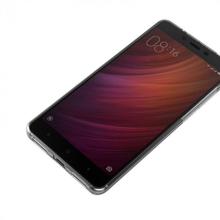 Husa  Xiaomi Redmi Note 4 / Note 4X Silicon TPU 360 grade - rose-gold 3