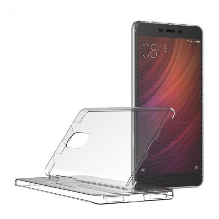 Husa  Xiaomi Redmi Note 4 / Note 4X Silicon TPU 360 grade - rose-gold 1