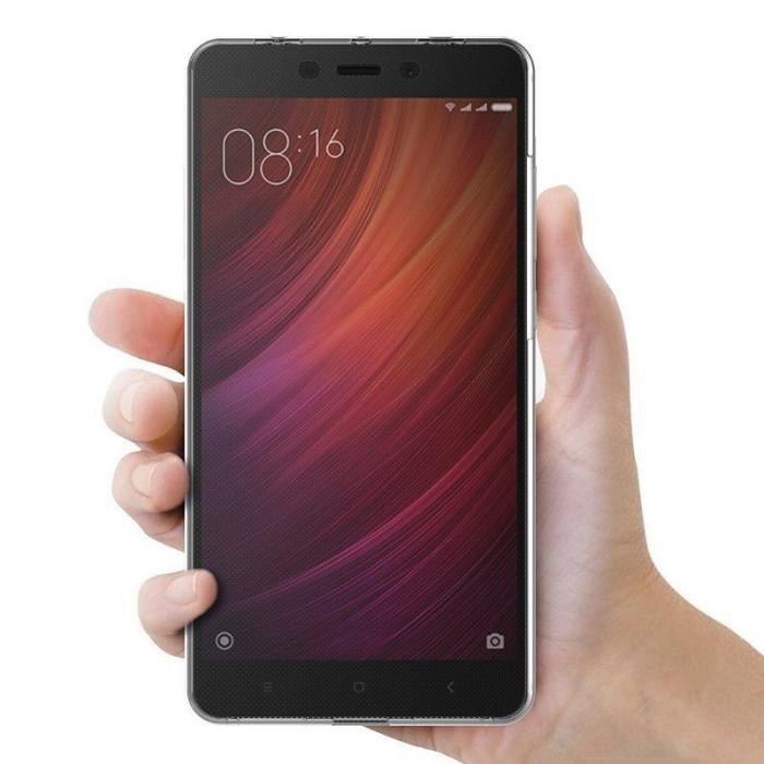 Husa  Xiaomi Redmi Note 4 / Note 4X Silicon TPU 360 grade - rose-gold 2