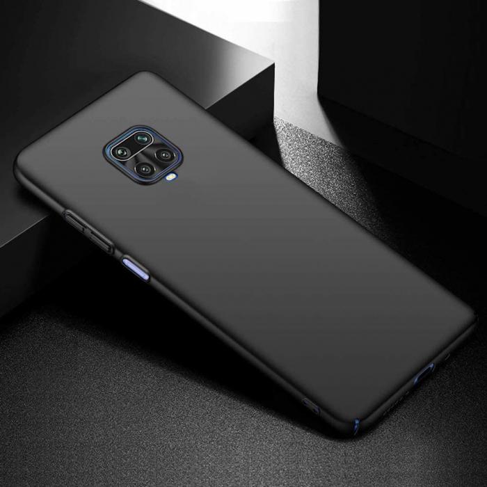 Husa Xiaomi Redmi Note 9 Pro Silicon Matte TPU Extra Slim – negru [4]