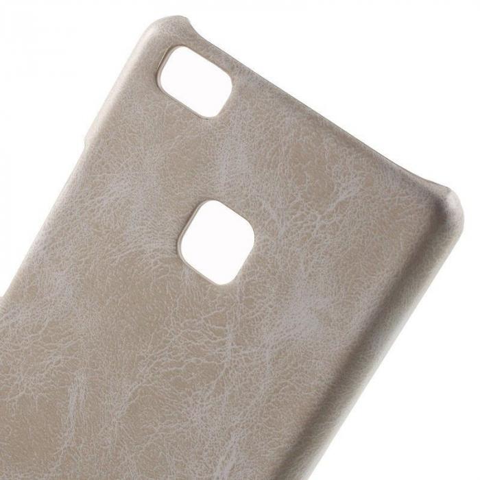 Husa Huawei P9 Lite Leather Hard Case - bej 4