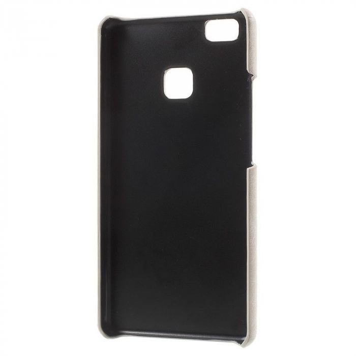 Husa Huawei P9 Lite Leather Hard Case - bej 2
