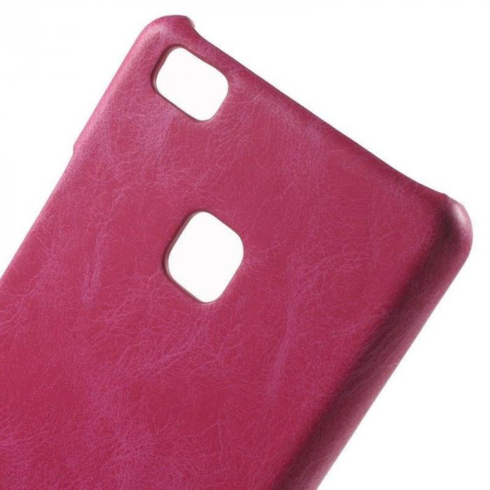 Husa Huawei P9 Lite Leather Hard Case - roz 4