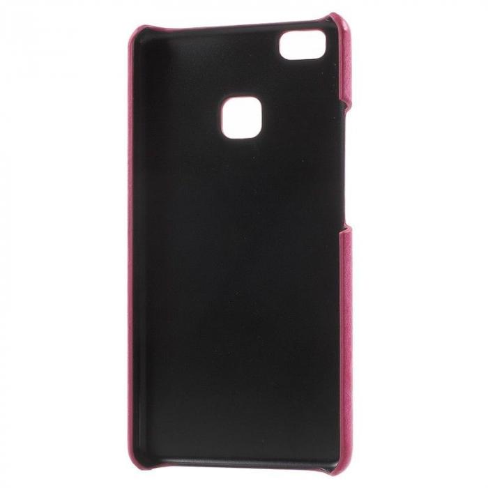 Husa Huawei P9 Lite Leather Hard Case - roz 3