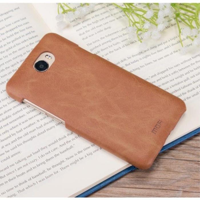 Mofi Leather Hard Case Huawei Y5II - maro 4