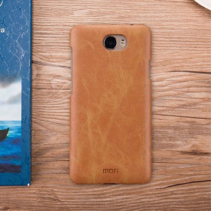 Mofi Leather Hard Case Huawei Y5II - maro 6