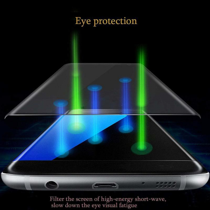 Sticla Securizata 5D Full Glue Huawei P20 - margini negre 2