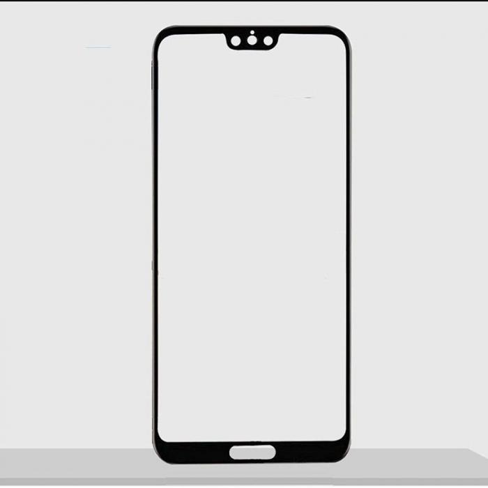 Sticla Securizata 5D Full Glue Huawei P20 - margini negre 1
