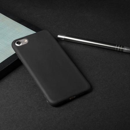 Husa  Samsung Galaxy A20E  Silicon Matte TPU Extra Slim – negru [4]