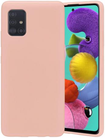 Husa Samsung Galaxy A51 SiliconFlexiSoft – roz [0]