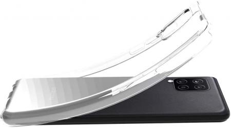 Husa Samsung Galaxy A12 - A42  Silicon Matte TPU Extra Slim – transparent [1]