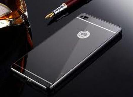 Bumper Metalic pentru Huawei Ascend P8 -  negru0