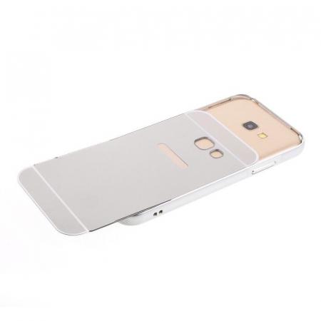 Husa  Samsung Galaxy A5 2017 (A520F) Bumper Metalic - argintiu4