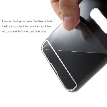 Husa  Samsung Galaxy A5 2017 (A520F) Bumper Metalic - argintiu7