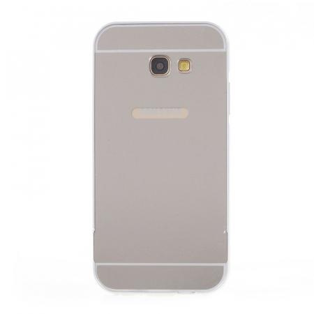 Husa  Samsung Galaxy A5 2017 (A520F) Bumper Metalic - argintiu2