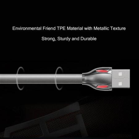 Cablu de date Lightning Remax Laser Iluminat2