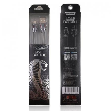 Cablu de date Lightning Remax Laser Iluminat6