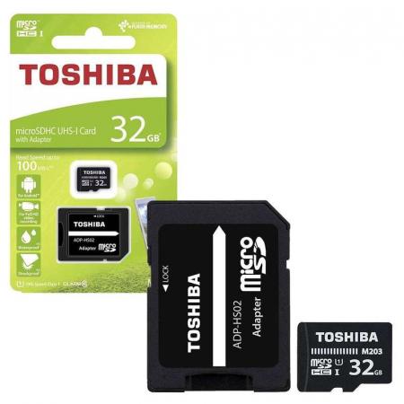 Card de memorie  Toshiba Micro SD-UHS 32 GB Class 101