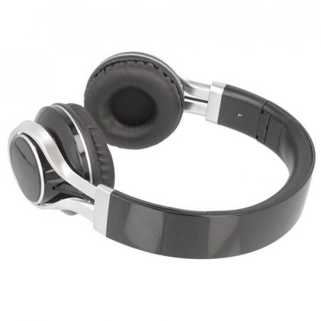 Casti Audio Extra Bass EP-16 cu microfon incorporat - negru4