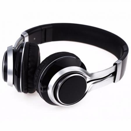 Casti Audio Extra Bass EP-16 cu microfon incorporat - negru1