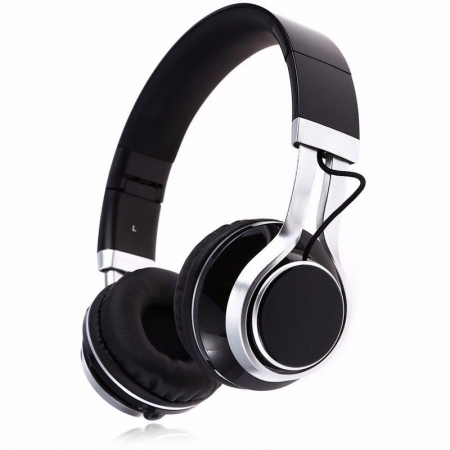 Casti Audio Extra Bass EP-16 cu microfon incorporat - negru0