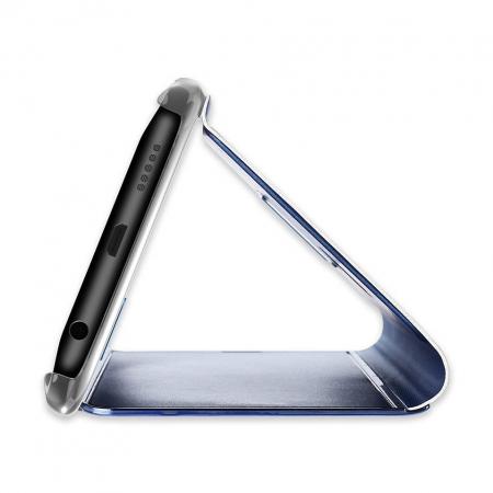 Husa Huawei P30 Lite – Flip Clear View – Negru [3]