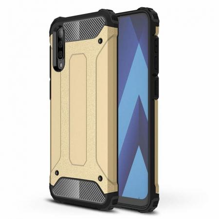 Husa Samsung Galaxy A70 Hybrid Armor - gold [0]