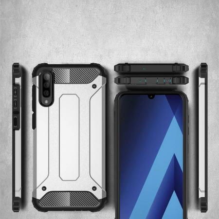 Husa Samsung Galaxy A70 Hybrid Armor - gold [3]