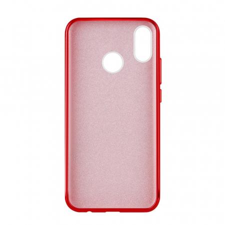 Husa Samsung A50 Shiny TPU Sclipici – rosu1