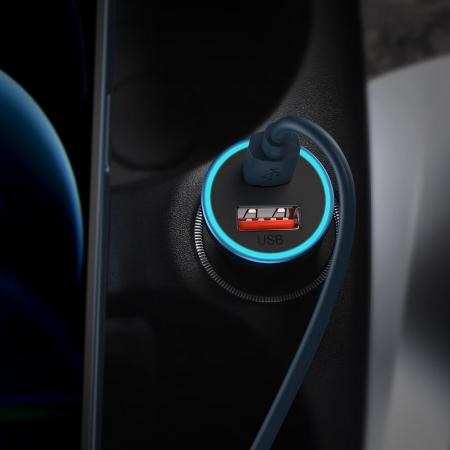 Incarcator auto Baseus Golden Contactor Pro-albastru [6]