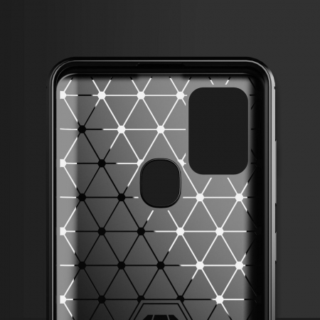 Husa Samsung Galaxy A21S - Tpu Carbon Fibre Brushed - negru [3]
