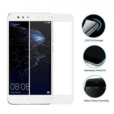 Sticla Securizata Full Screen Huawei P10 Lite - alb1