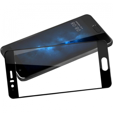 Folie Sticla Securizata Full Screen Huawei P10  - negru1