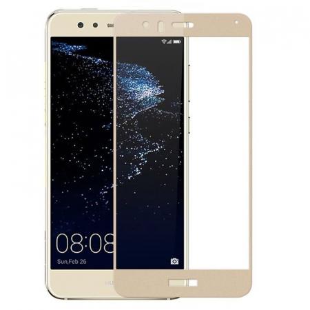 Folie Sticla Securizata Full Screen Huawei P9 Lite Mini 2017 - gold1
