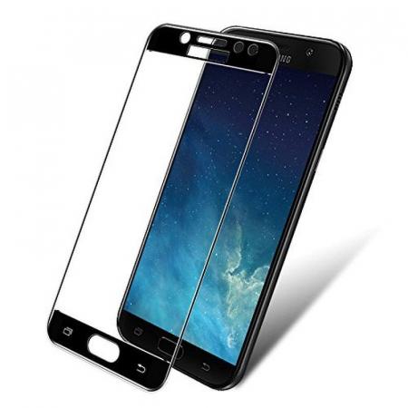 Sticla Securizata Full Screen Samsung Galaxy J7 2017 - negru0