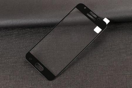 Sticla Securizata Full Screen Samsung Galaxy J3 2017 - negru3