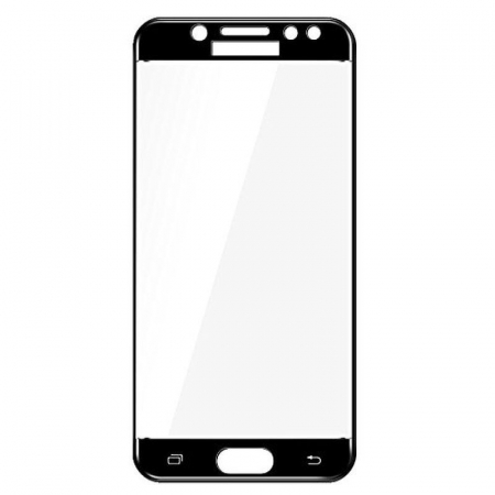 Sticla Securizata Full Screen Samsung Galaxy J7 2017 - negru2