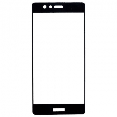Folie Sticla Securizata Full Screen Soft Edge Huawei P9 - negru2