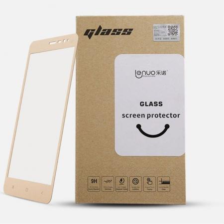 Folie Sticla Securizata Leuno Full Screen Xiaomi Redmi Note 3 Pro Special Edition - negru4