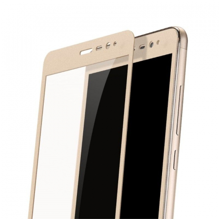 Folie Sticla Securizata Leuno Full Screen Xiaomi Redmi Note 3 Pro Special Edition - gold6
