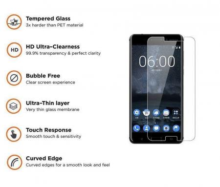 Folie Sticla Securizata Tempered Glass  Nokia 6 1