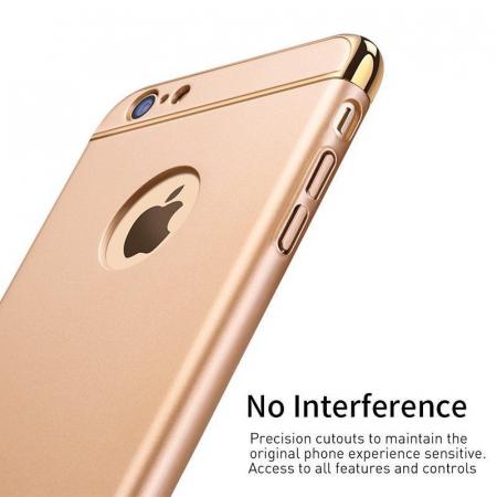 Husa 3 in 1 iPhone 6 / iPhone 6S - alb2